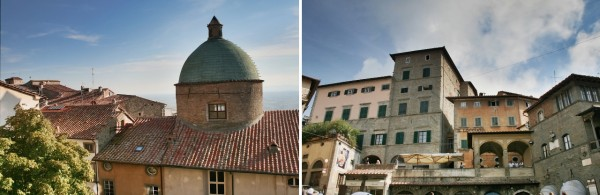 Scenes from Around Cortona, a beautiful hill town in Tuscany, Italy