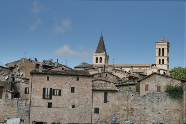 Spello, a beautiful hill town in Umbria, Italy