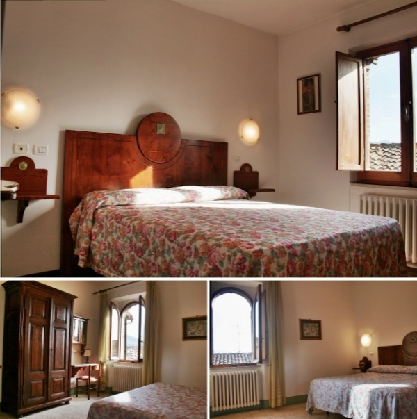 Ca' Spadolino bedroom, holiday rental house in Spello for vacation accommodation in Umbria Italy