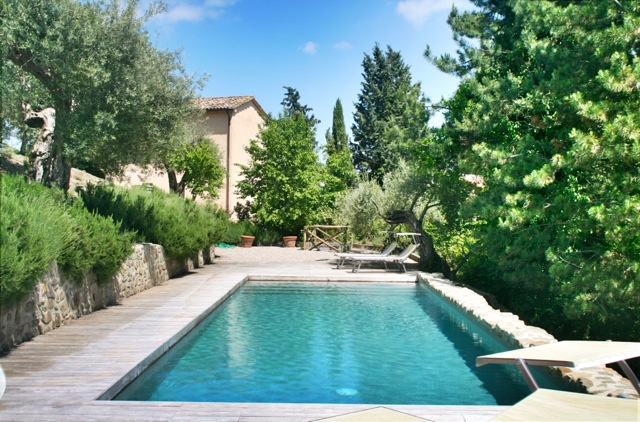 Casa Ospicchio, a holiday rental villa on the Tuscany Umbria border