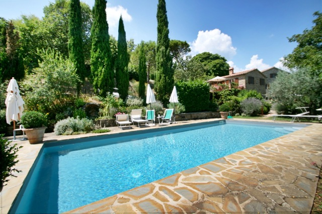 Casa Lucati, a holiday rental villa on the Tuscany Umbria border