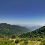 Monte Ginezzo View, Tuscany Umbria border, Italy