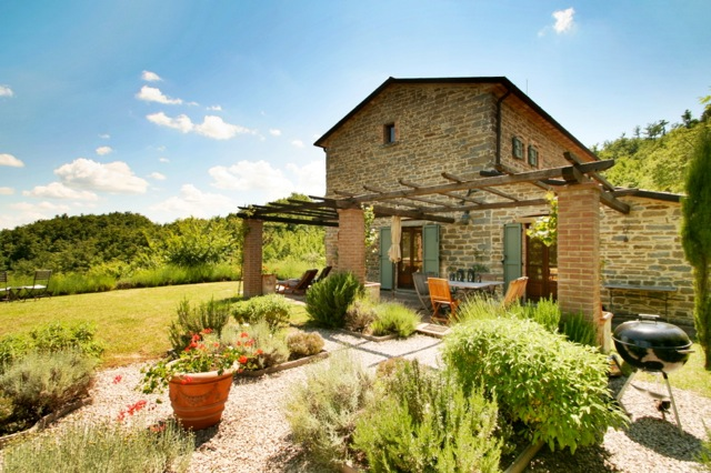 La Rondinaia, a holiday villa in northern Umbria
