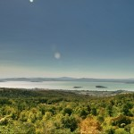 Lake Trasimeno View, Tuscany Umbria Border, Italy