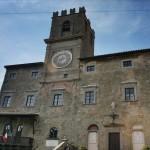The town of Cortona in Tuscany, Italy
