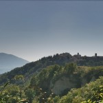 The Town Of Montone In Umbria, Italy