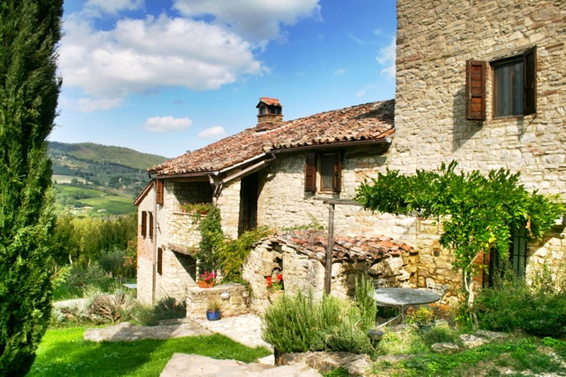 Ca' di Bracco, a large holiday villa in the Niccone Valley