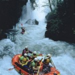Rafting near the Cascata dei Marmore, Umbria