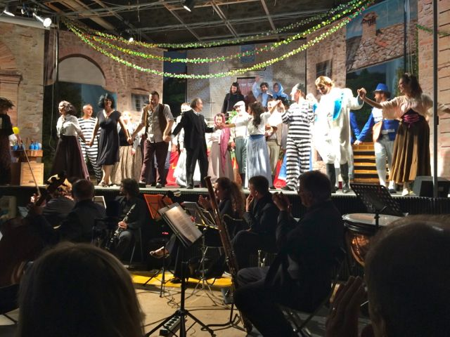 The finale at Preggio Opera