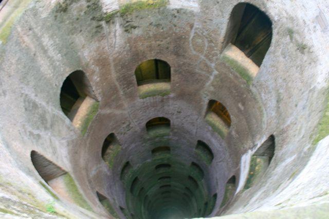 The Pozzo di San Patrizio in Orvieto, Umbria