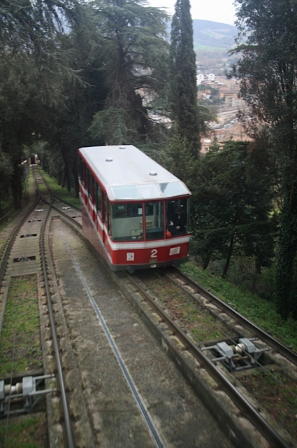 The Funicular Railway, Orvieto, Umbria