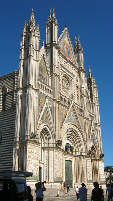 The Duomo in Orvieto, Umbria