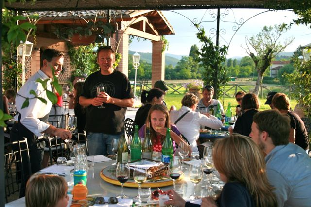 Wine Tasting In The Niccone Valley