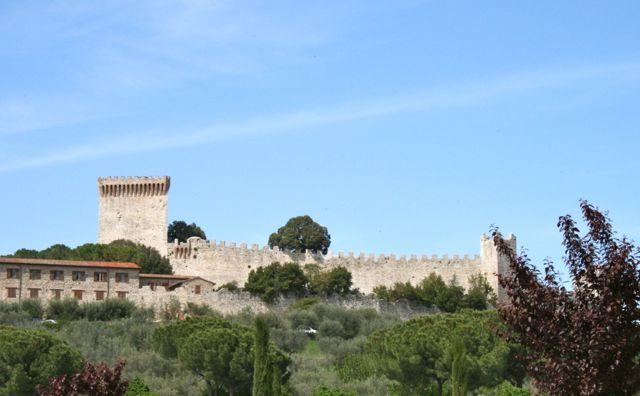 The castle at Castiglione del Lago