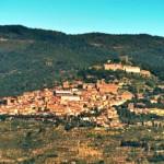 The town of Cortona in Tuscany
