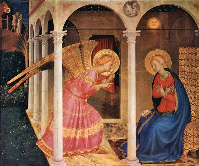 Fra Angelico's Annunciation in Cortona