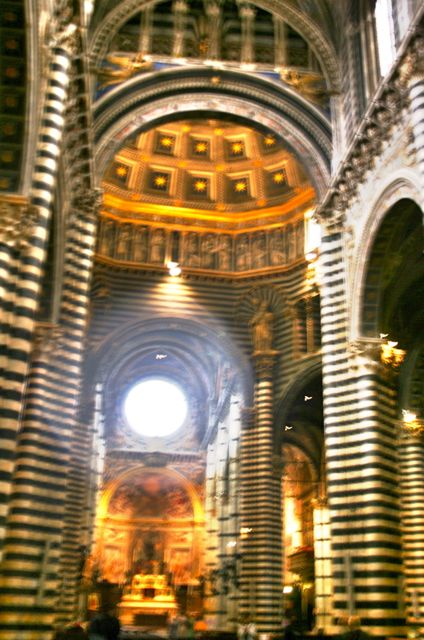 The interior of Siens's Duomo