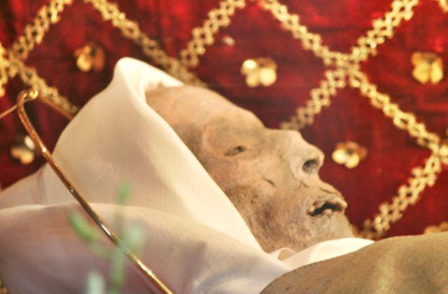 The body of Santa Margherita, Cortona