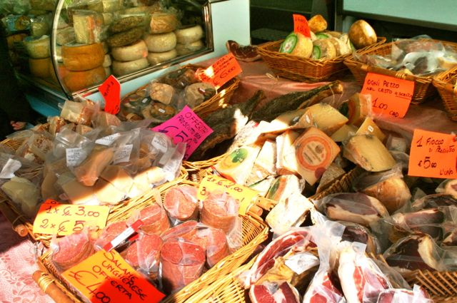 Stall at Umbertide Market