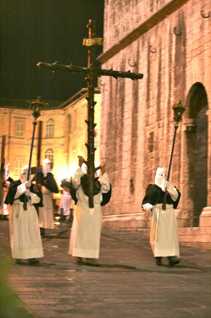Good Friday procession in Gubbio, Umbria