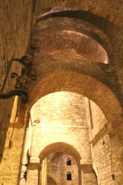 The Underground City in Perugia, Umbria