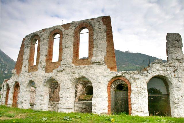 The Roman amphitheatre, Gubbio, Umbria