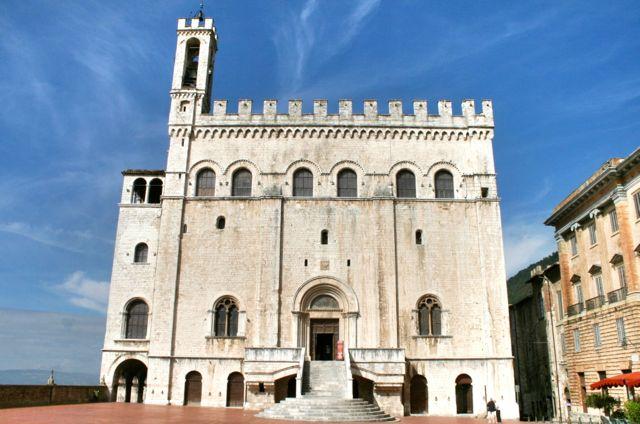 The Palazzo de Consoli, Gubbio, Umbria