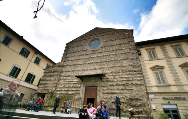 The Church Of San Francesco In Arezzo, Tuscany