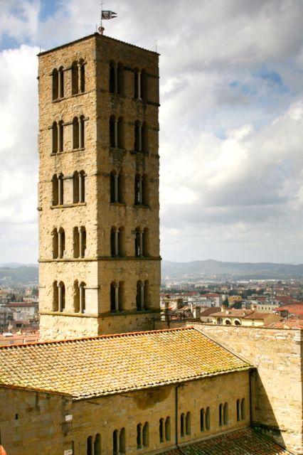 The Pieve di Santa Maria in Arezzo