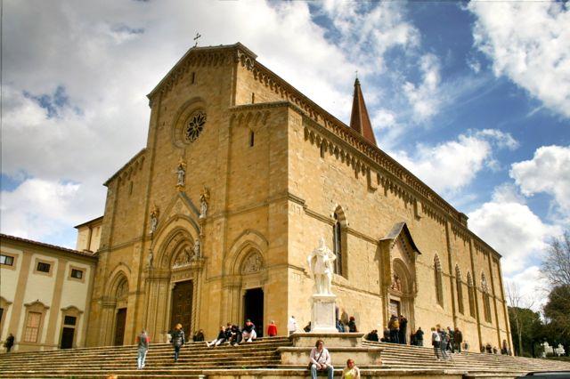 The Duomo in Arezzo