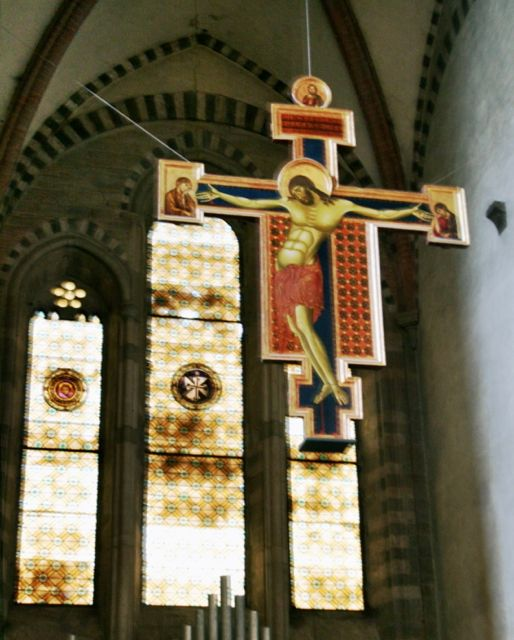 Crucifix by Cimabue in Arezzo