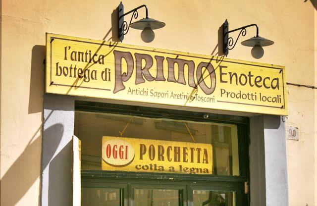 The Primo Enoteca in Arezzo