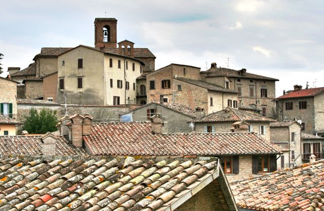 Montone , A Beautiful Hill Town In Umbria