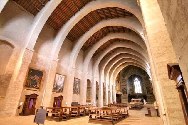 Inside the Duomo, Gubbio