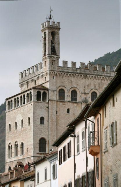The Palazzo dei Consoli in Gubbio