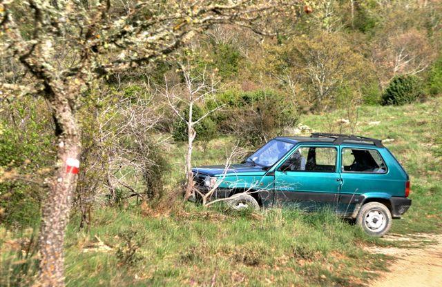 Asparagus hunters' Fiat Panda 4v4, Migianella Walk