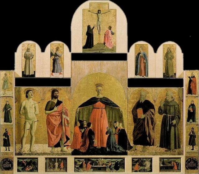 Piero della Francesca's Misericordia tryptych in Sansepolcro