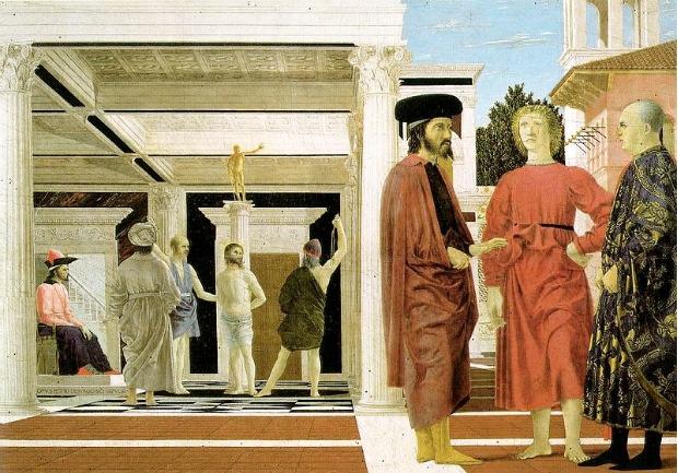 The Flagellation of Christ by Piero della Francesca