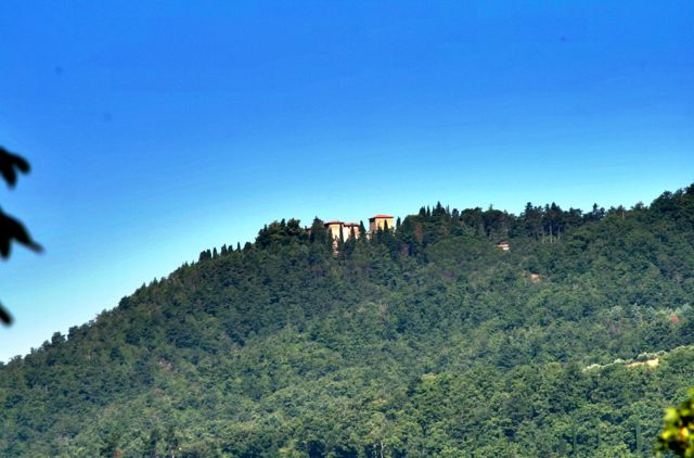 The Rocca Raisina in the Niccone Valley