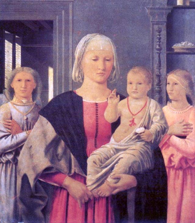 The Madonna Di Senigallia by Piero della Francesca
