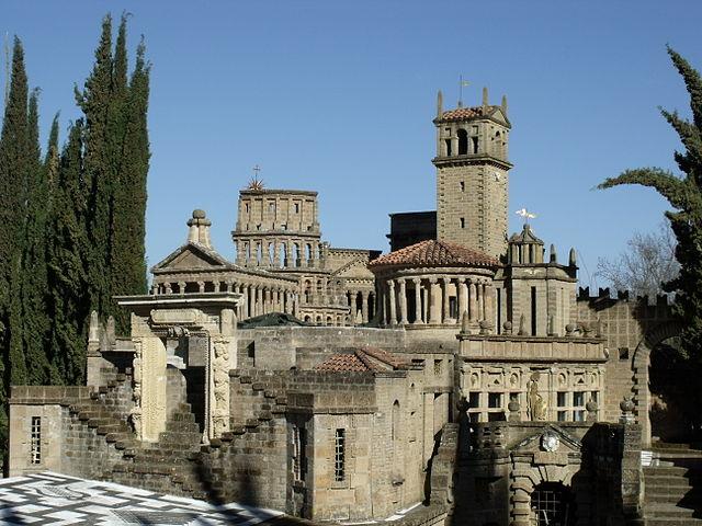 La Scarzuola, architectural sculpture garden