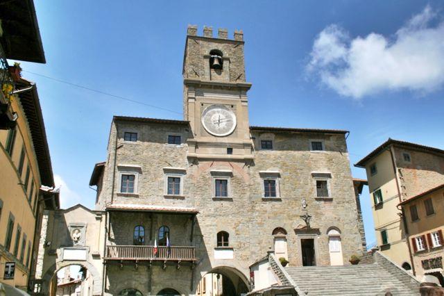 Cortona Town Hall, Tuscany