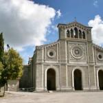 The church of Santa Margarita, Cortona