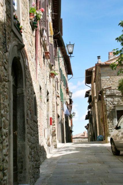 Via Berrettini, Cortona