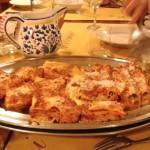 The lasagna at Trattoria Mimmi