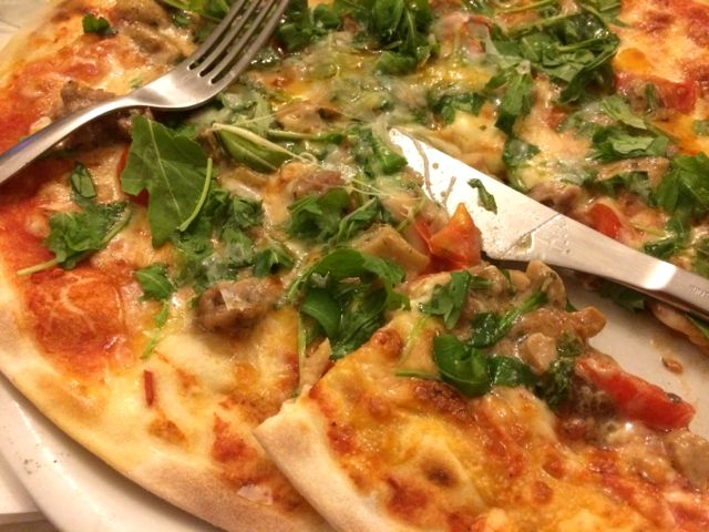 Pizza at Pizzeria Nestore