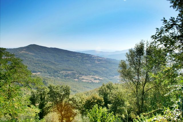 The Niccone Valley on the Tuscany Umbria border