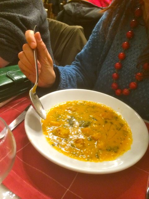Vegetable Soup at Trattoria Gozzi, san Lorenzo, Florence