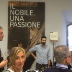 Wine tasting at the release of 2011 Vino Nobile di Montepulciano