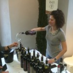 Trying Vino Nobile from the Dei winery